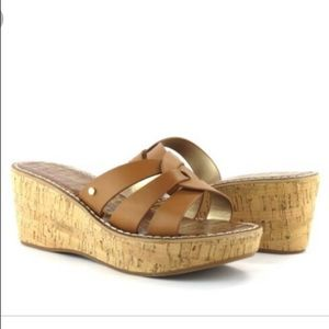 Nwt Sam Edelman raynere wedge sandal 9.5